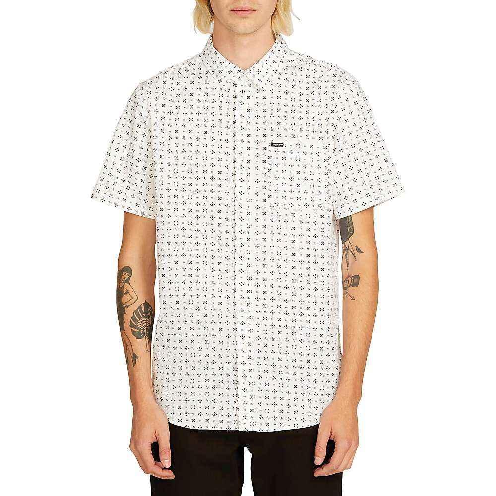 ボルコム Volcom メンズ 半袖シャツ トップス【salt dot ss shirt】White