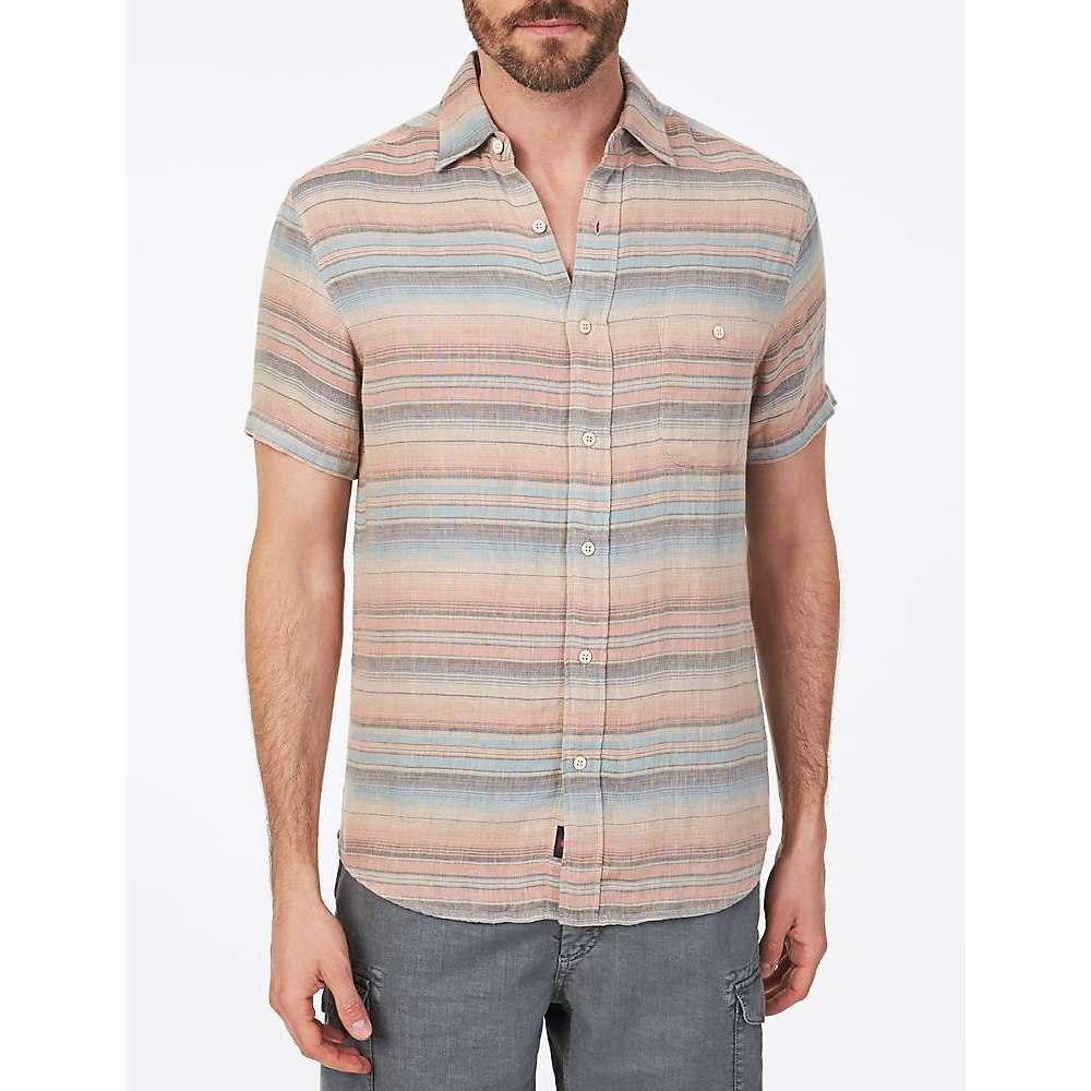 ファレティ Faherty メンズ 半袖シャツ トップス【ss doublecloth coast shirt】Evening Playa