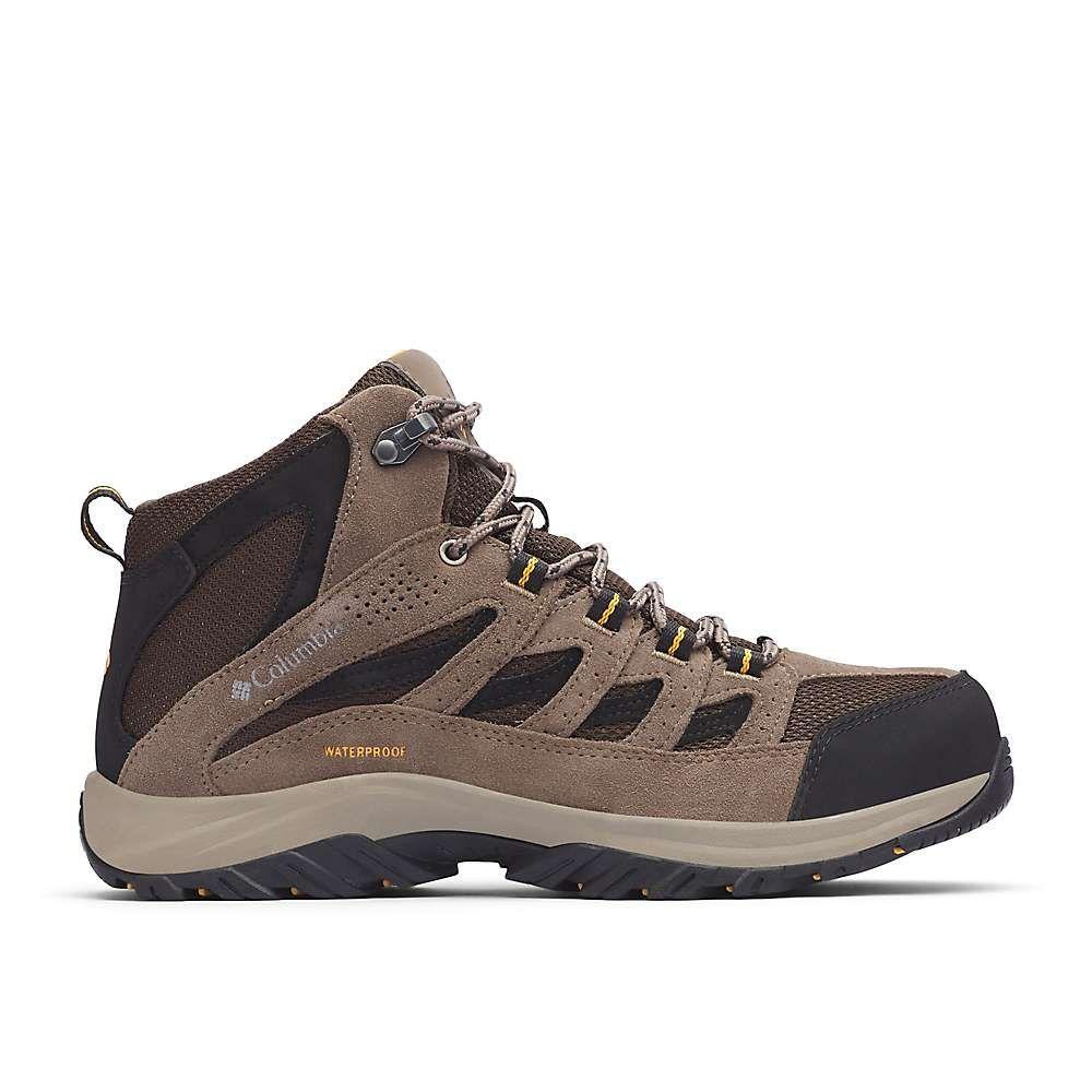 コロンビア Columbia Footwear メンズ ハイキング・登山 ブーツ シューズ・靴【columbia crestwood mid waterproof boot】Cordovan/Squash