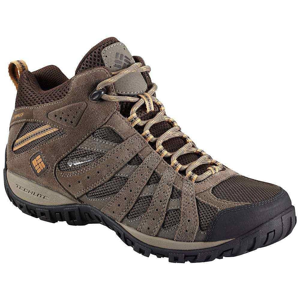 コロンビア Columbia Footwear メンズ ハイキング・登山 ブーツ シューズ・靴【columbia redmond wp mid boot】Cordovan/Dark Banana