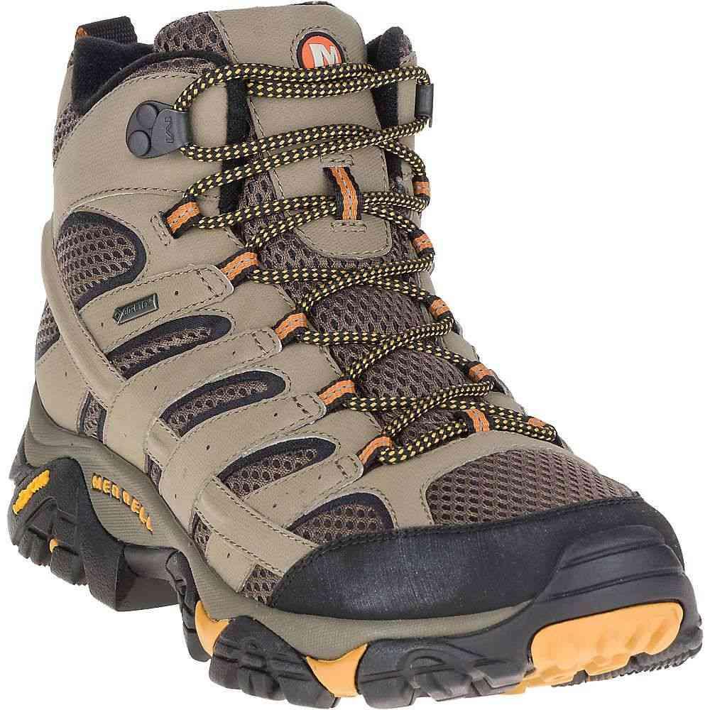 メレル Merrell メンズ ハイキング・登山 ブーツ シューズ・靴【moab 2 mid gore-tex boot】Walnut