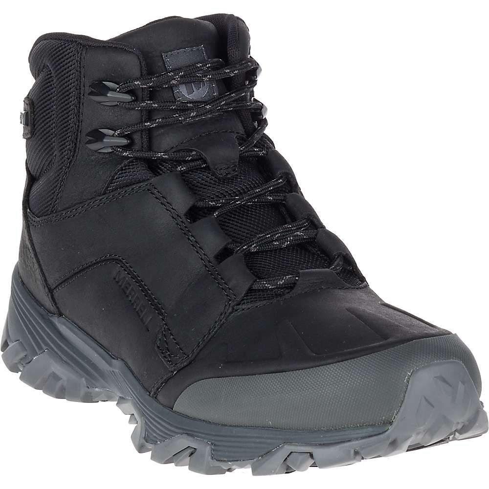 メレル Merrell メンズ ハイキング・登山 ブーツ シューズ・靴【coldpack ice+ mid waterproof boot】Black