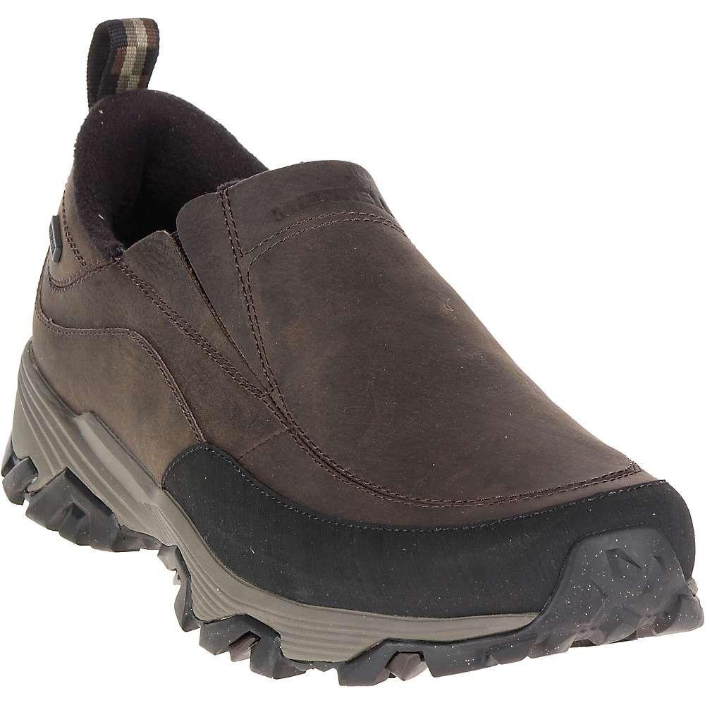 メレル Merrell メンズ ハイキング・登山 シューズ・靴【coldpack ice+ moc waterproof shoe】褐色