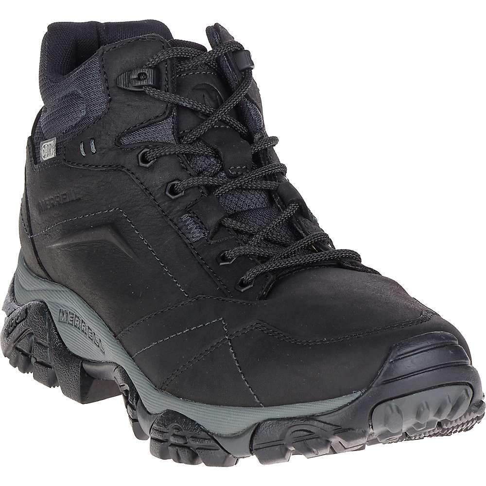 メレル Merrell メンズ ハイキング・登山 ブーツ シューズ・靴【moab adventure mid waterproof boot】Black S