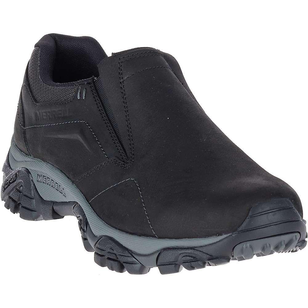 メレル Merrell メンズ ハイキング・登山 シューズ・靴【moab adventure moc shoe】Black