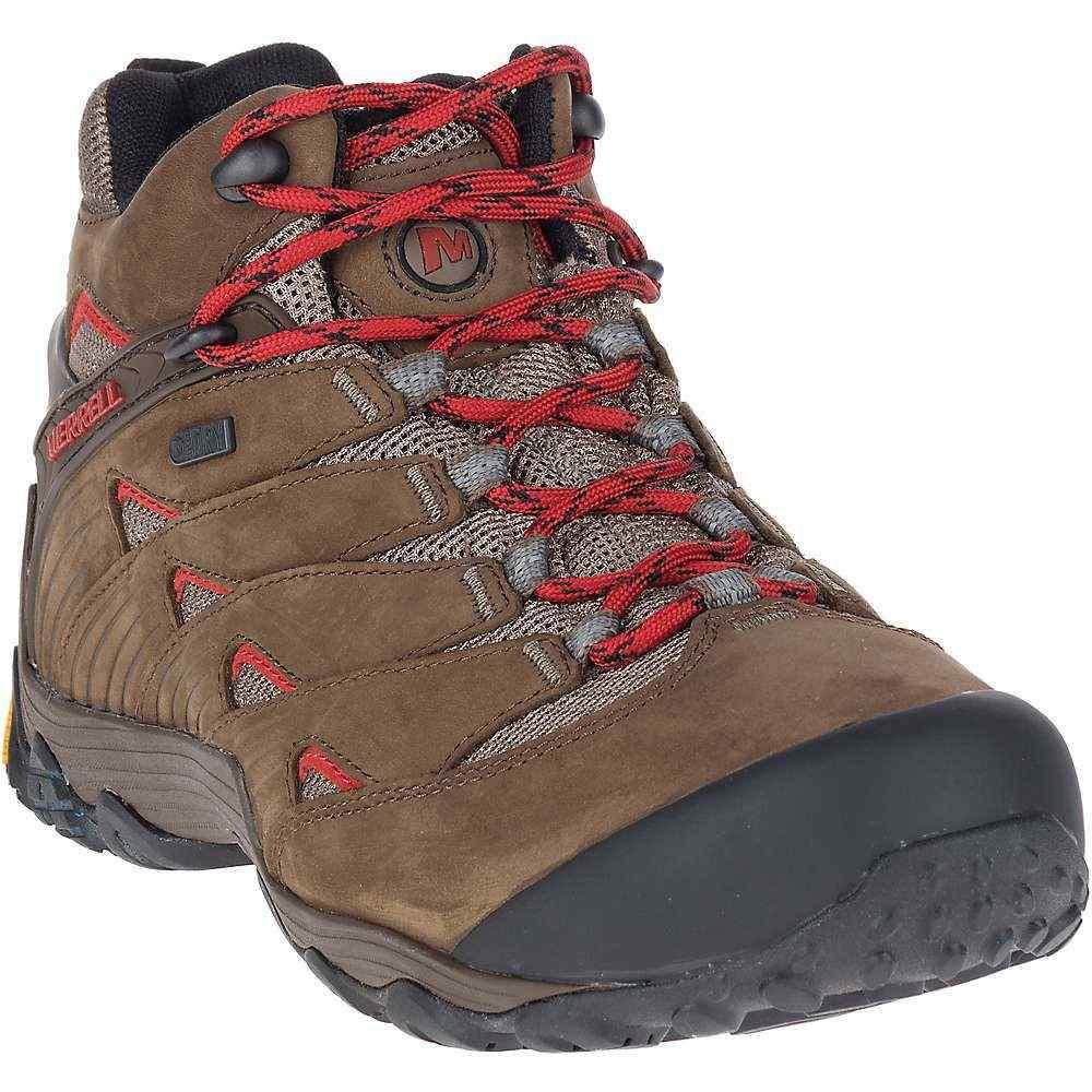 メレル Merrell メンズ ハイキング・登山 ブーツ シューズ・靴【chameleon 7 waterproof mid boot】Boulder