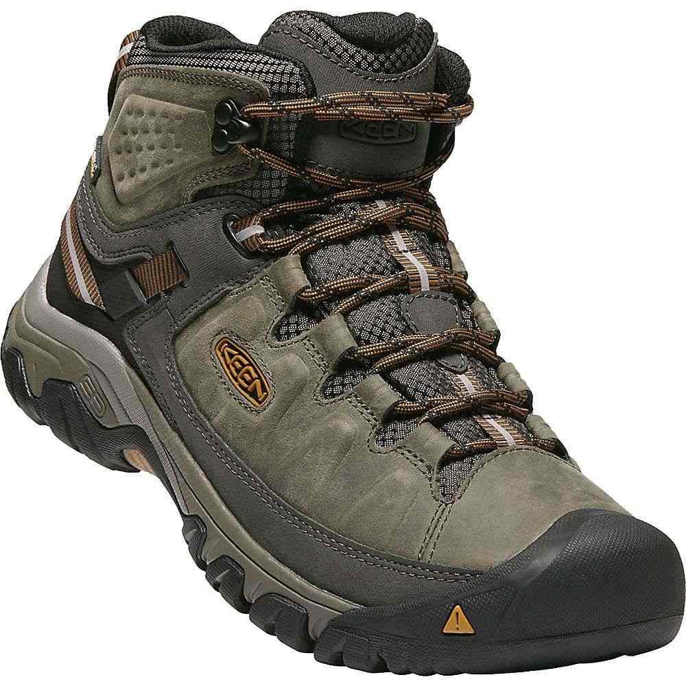 キーン Keen メンズ ハイキング・登山 ブーツ シューズ・靴【targhee iii mid waterproof boot】Black Olive/Golden Brown