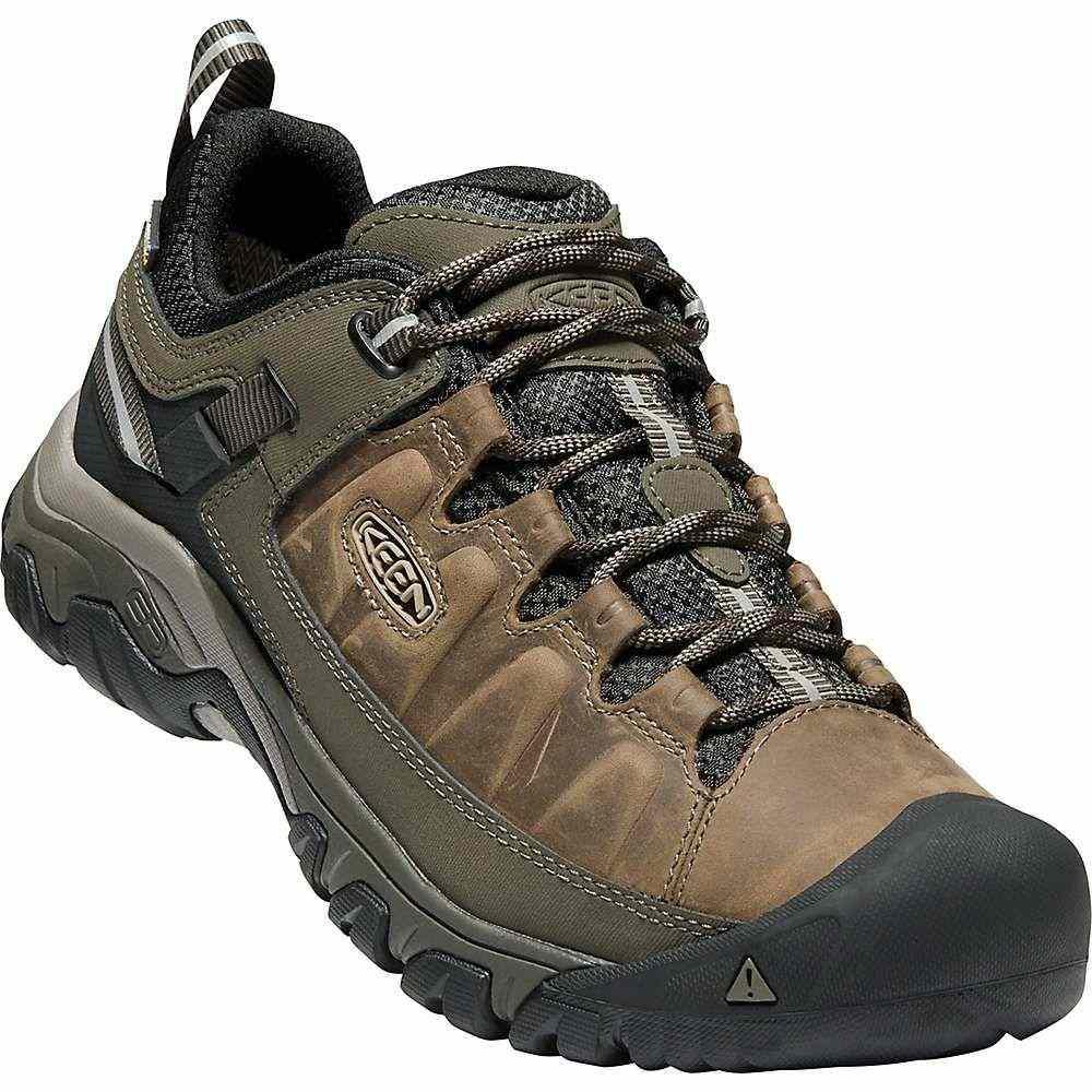 キーン Keen メンズ ハイキング・登山 シューズ・靴【targhee iii waterproof shoe】Bungee Cord/Black