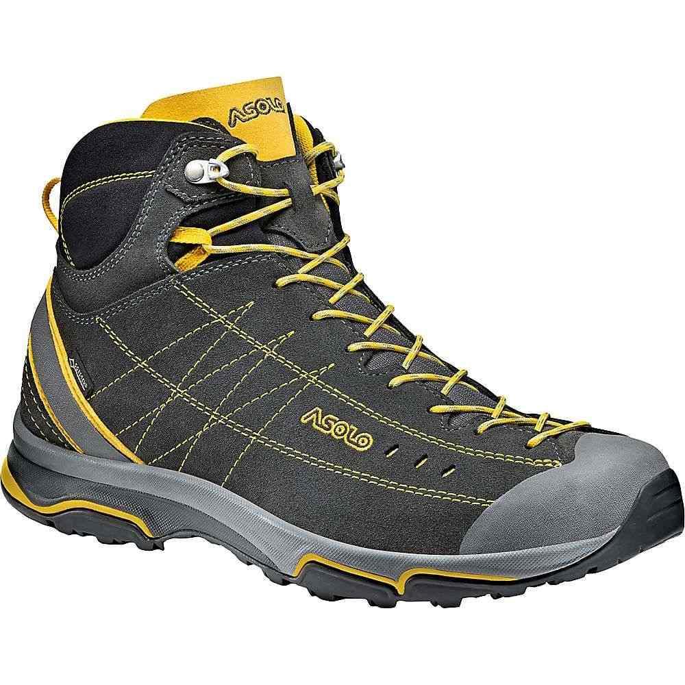 アゾロ Asolo メンズ ハイキング・登山 シューズ・靴【nucleon mid gv shoe】Graphite/Yellow