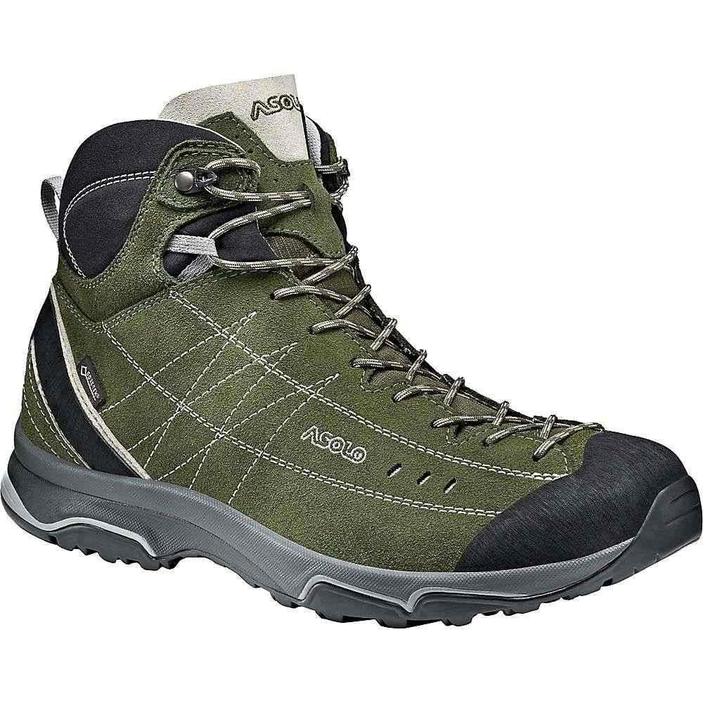 アゾロ Asolo メンズ ハイキング・登山 シューズ・靴【nucleon mid gv shoe】Rifle Green/Silver