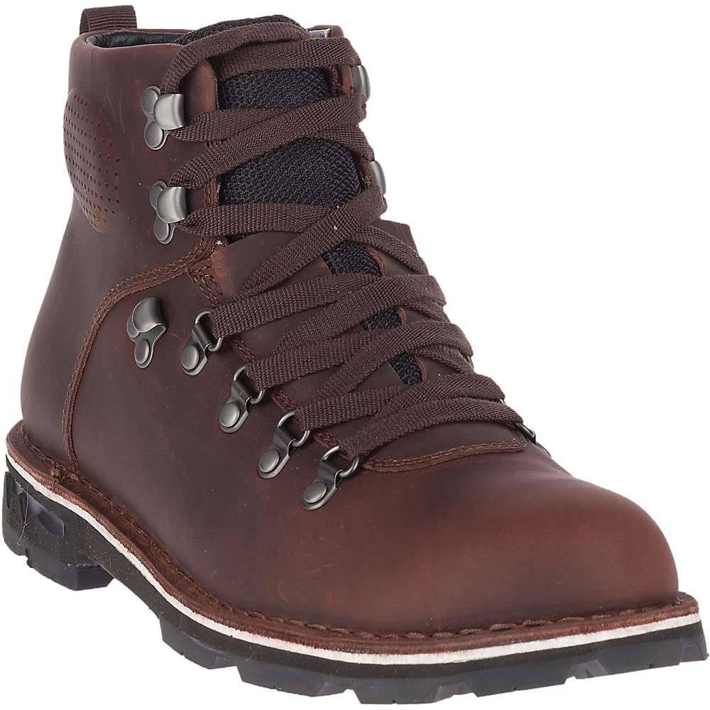 メレル Merrell メンズ ハイキング・登山 ブーツ シューズ・靴【sugarbush braden mid leather waterproof boot】Espresso