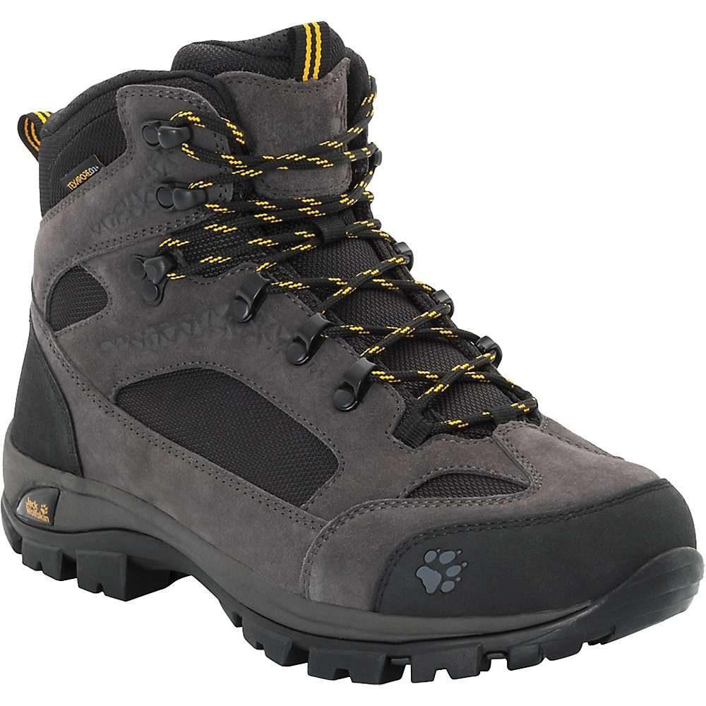 ジャックウルフスキン Jack Wolfskin メンズ ハイキング・登山 ブーツ シューズ・靴【all terrain 8 texapore mid boot】Phantom