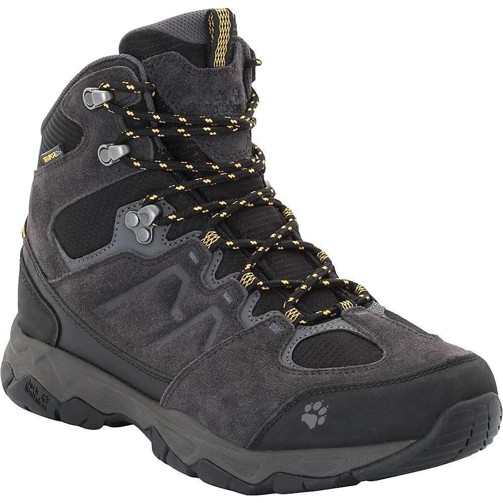 ジャックウルフスキン Jack Wolfskin メンズ ハイキング・登山 ブーツ シューズ・靴【mountain attack 6 texapore mid boot】Burly Yellow