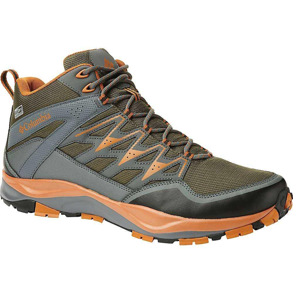 コロンビア Columbia Footwear メンズ ハイキング・登山 シューズ・靴【columbia wayfinder mid outdry shoe】Nori/Bright Copper