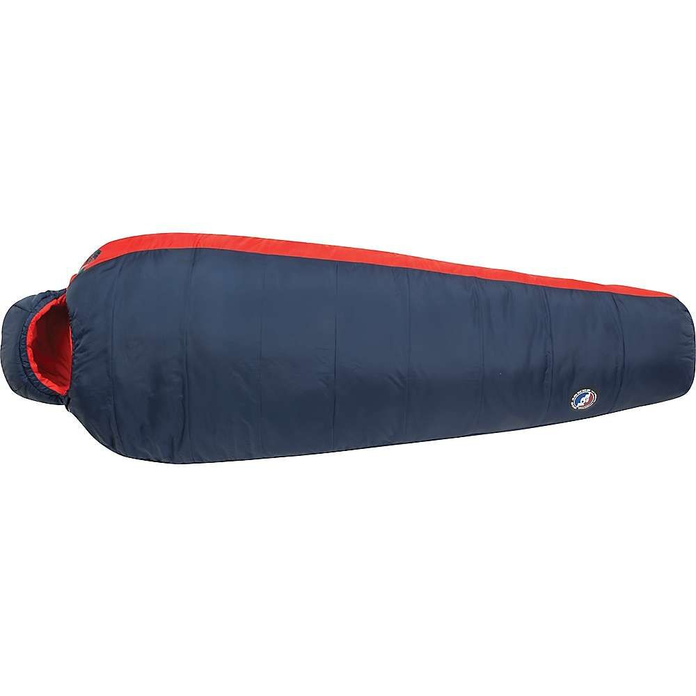 ビッグアグネス Big Agnes メンズ ハイキング・登山 寝袋【husted 20 degree sleeping bag】Navy/Red