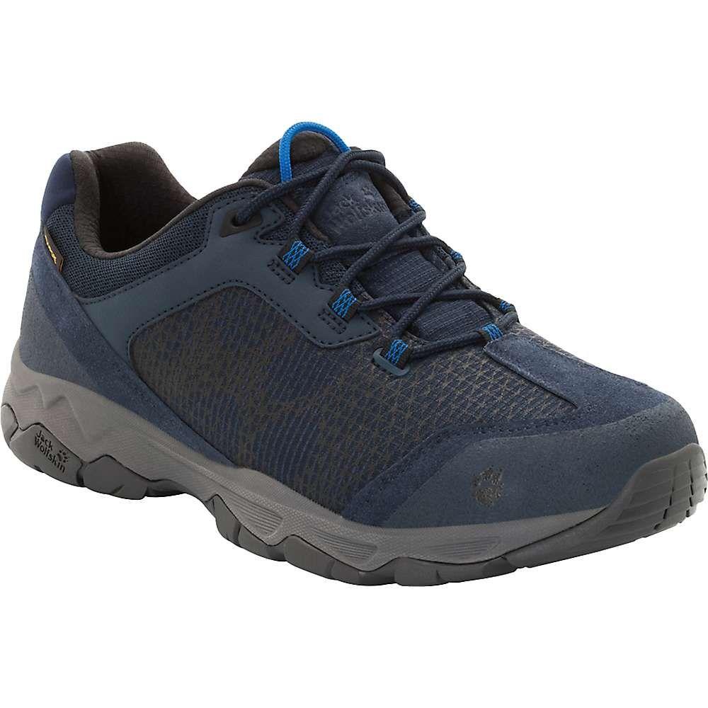 ジャックウルフスキン Jack Wolfskin メンズ ハイキング・登山 ブーツ シューズ・靴【rock hunter texapore low boot】Night Blue