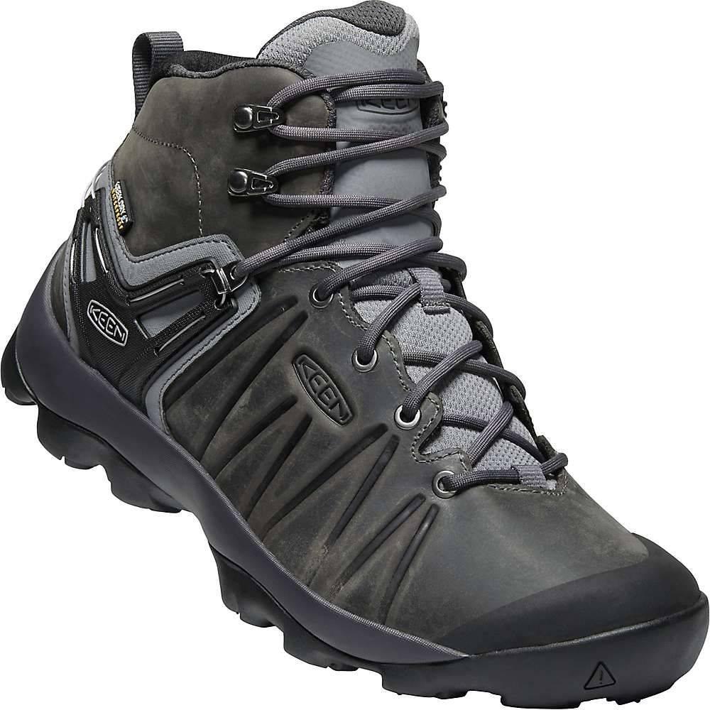 キーン Keen メンズ ハイキング・登山 ブーツ シューズ・靴【venture mid leather wp boot】Steel Grey/Magnet