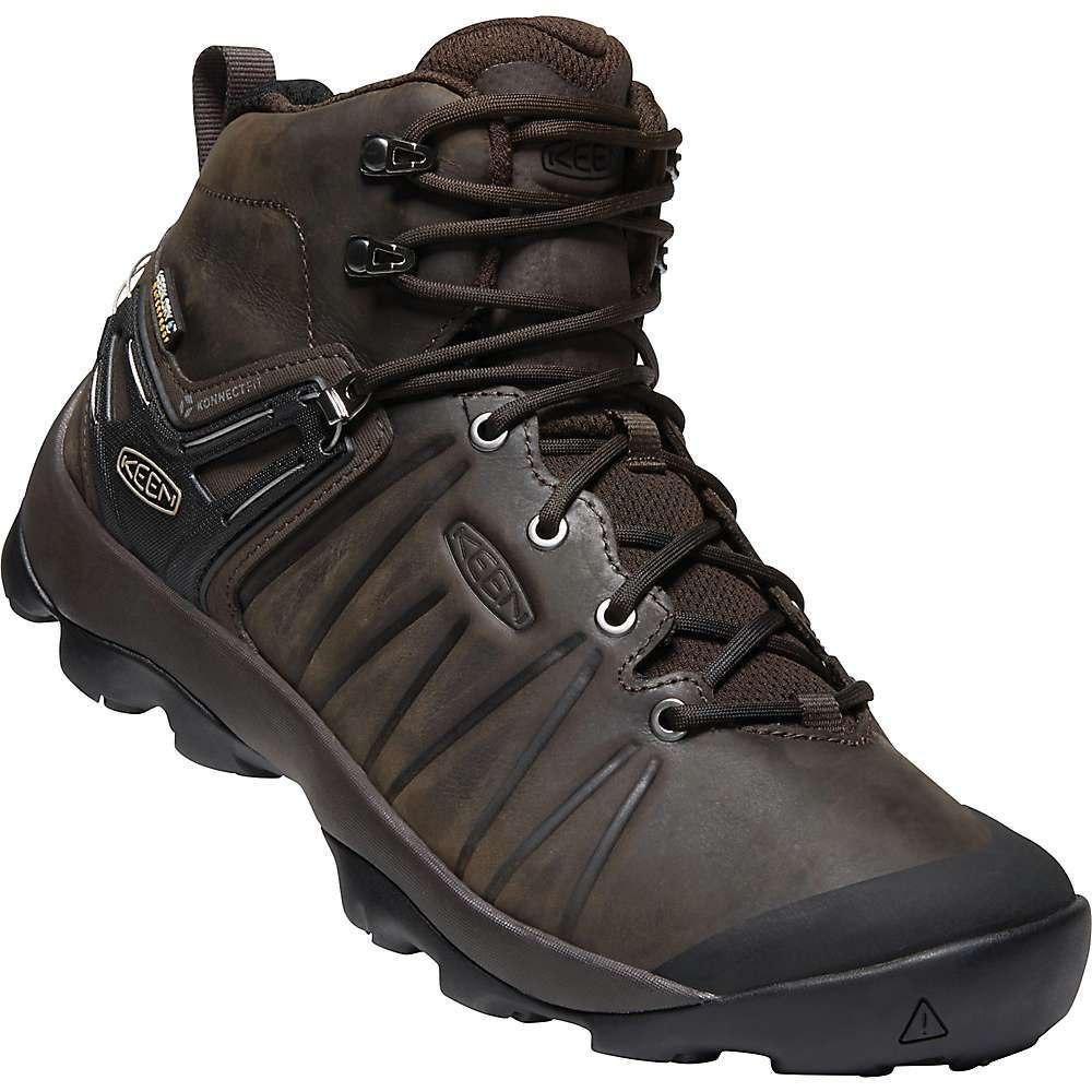 キーン Keen メンズ ハイキング・登山 ブーツ シューズ・靴【venture mid leather wp boot】Mulch/Black
