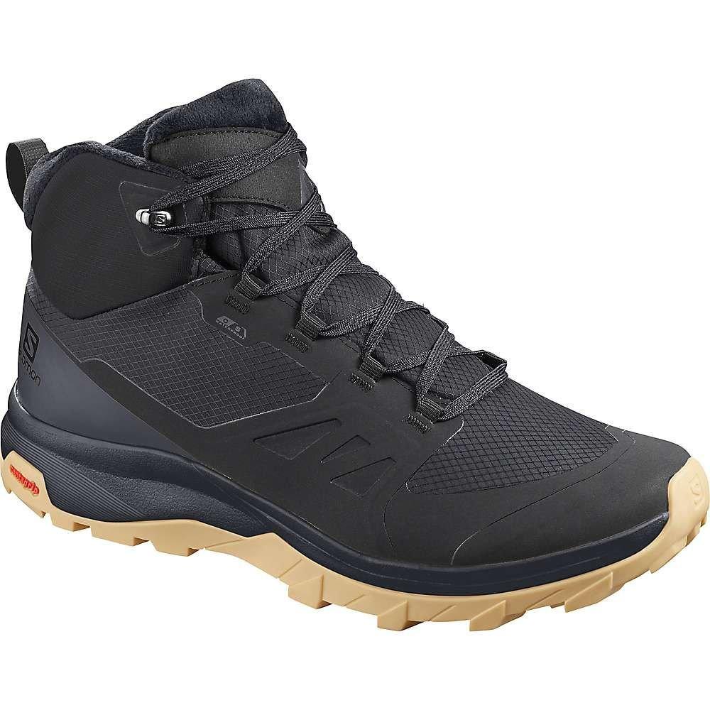 サロモン Salomon メンズ ハイキング・登山 ブーツ シューズ・靴【outsnap cs waterproof boot】Black/Ebony/GumA