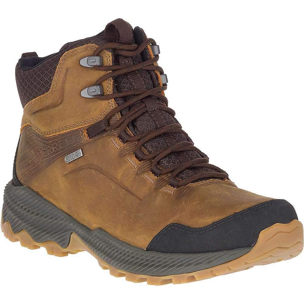 メレル Merrell メンズ ハイキング・登山 ブーツ シューズ・靴【forestbound mid waterproof boot】Merrell Tan