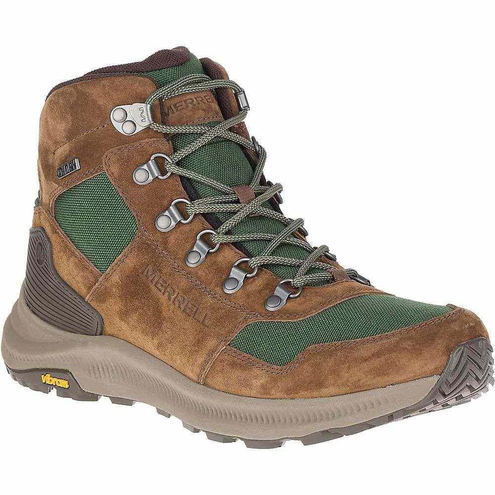 メレル Merrell メンズ ハイキング・登山 ブーツ シューズ・靴【ontario 85 mid waterproof boot】Forest