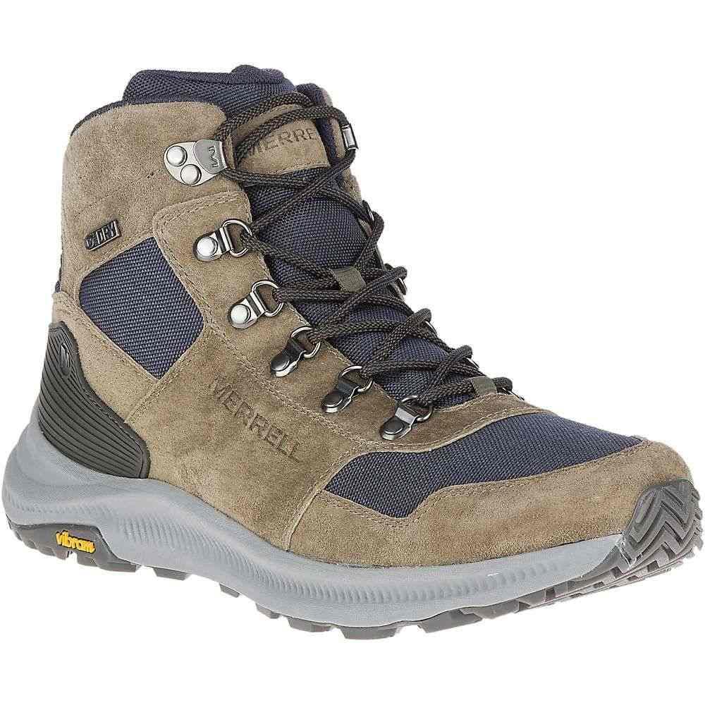 メレル メンズ ハイキング・登山 シューズ・靴 Olive 【サイズ交換無料】 メレル Merrell メンズ ハイキング・登山 ブーツ シューズ・靴【ontario 85 mid waterproof boot】Olive