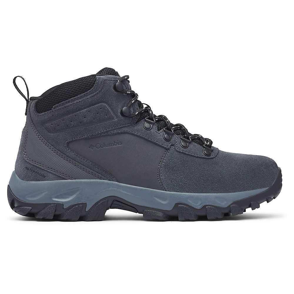 コロンビア Columbia Footwear メンズ ハイキング・登山 ブーツ シューズ・靴【columbia newton ridge plus ii suede wp boot】Shark/Black