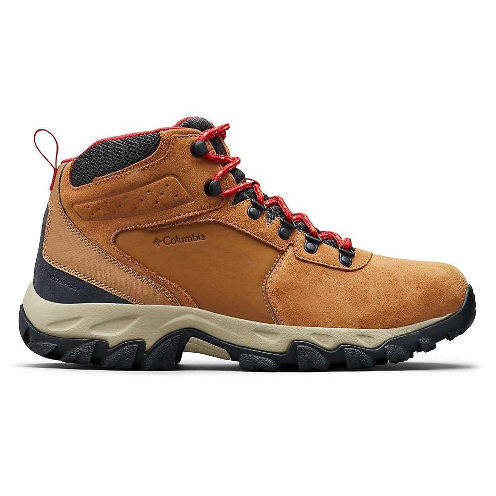 コロンビア Columbia Footwear メンズ ハイキング・登山 ブーツ シューズ・靴【columbia newton ridge plus ii suede wp boot】Elk/Mountain Red