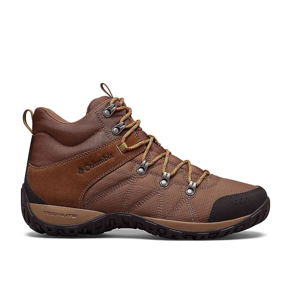 コロンビア Columbia Footwear メンズ ハイキング・登山 ブーツ シューズ・靴【columbia peakfreak venture lt mid boot】Dark Brown/Clean Green