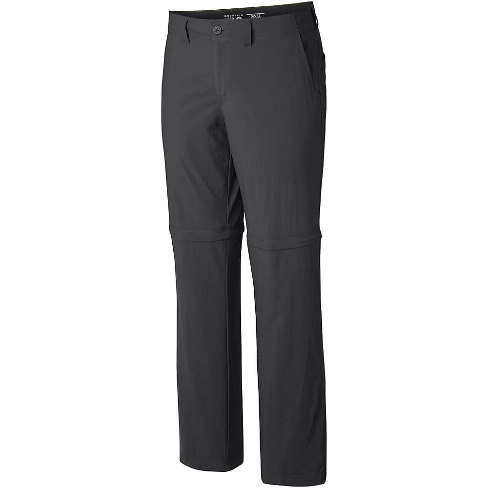 マウンテンハードウェア Mountain Hardwear メンズ ハイキング・登山 ボトムス・パンツ【castil convertible pant】Black