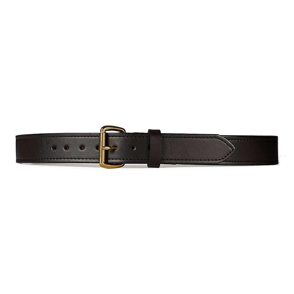 フィルソン Filson メンズ ベルト 【1 1/2in double belt】Brown