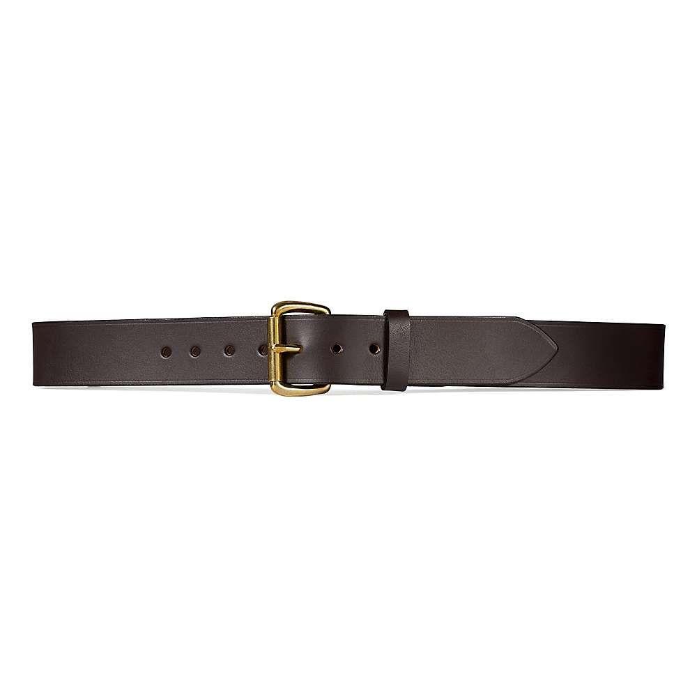 フィルソン Filson メンズ ベルト 【1.5in bridle leather belt】Brown