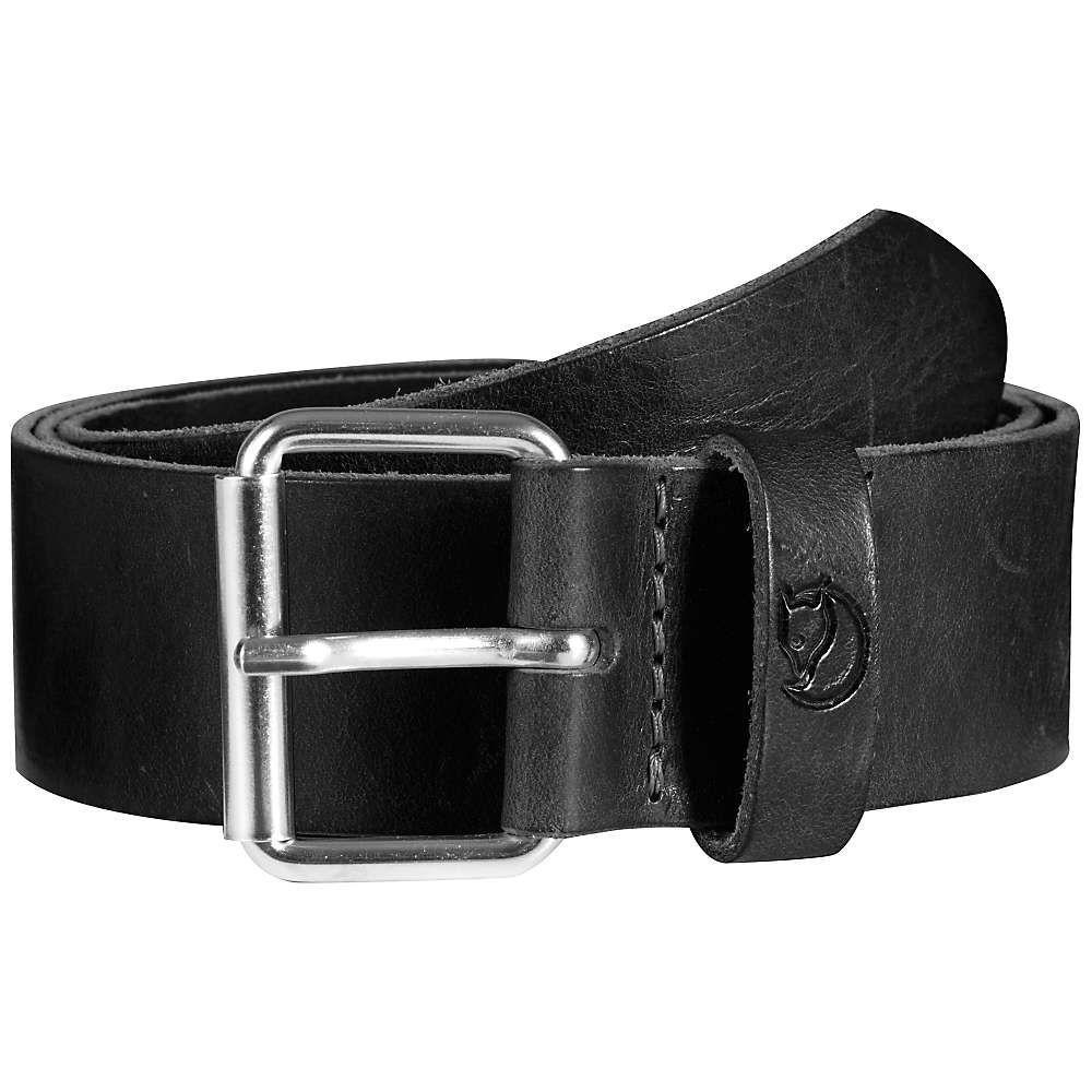 フェールラーベン Fjallraven メンズ ベルト 【singi 4.0cm belt】Black