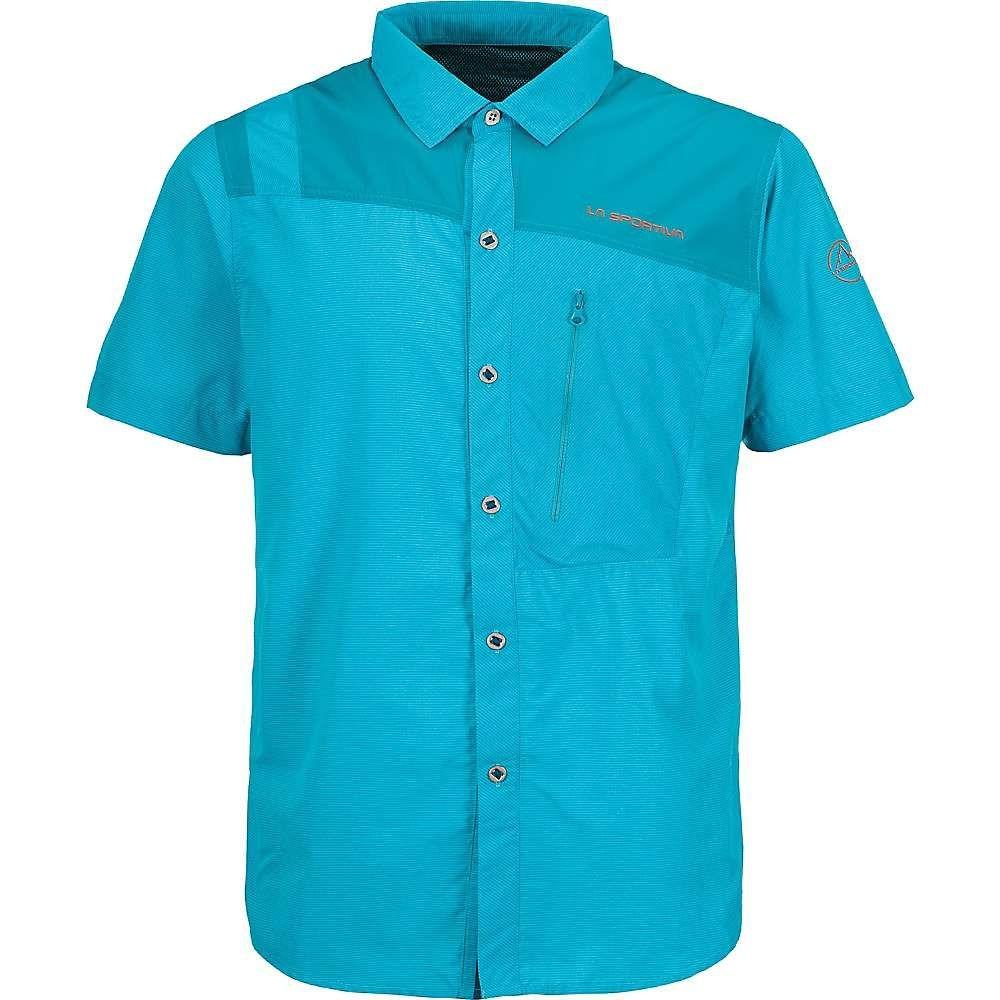 ラスポルティバ La Sportiva メンズ ハイキング・登山 トップス【vector shirt】Lake/Tropic Blue