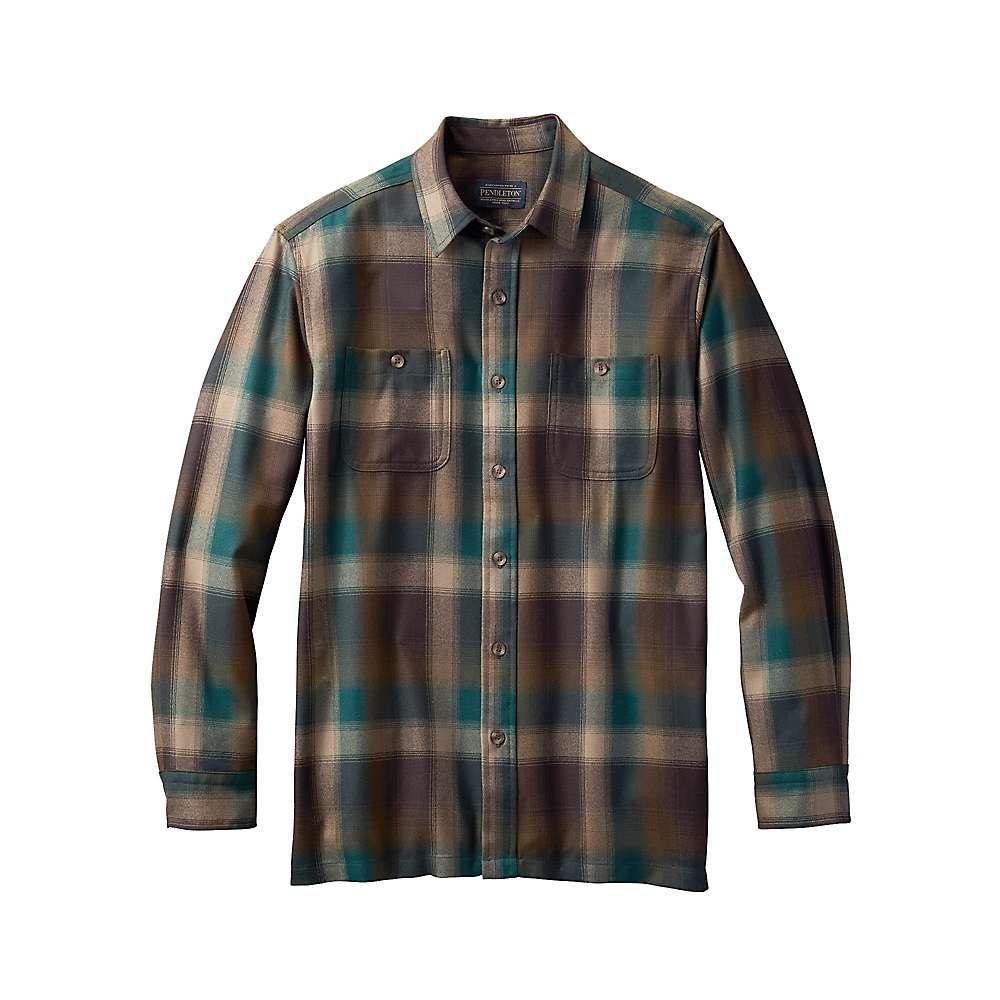 ペンドルトン Pendleton メンズ ハイキング・登山 トップス【wool flannel】Green Brown Plaid