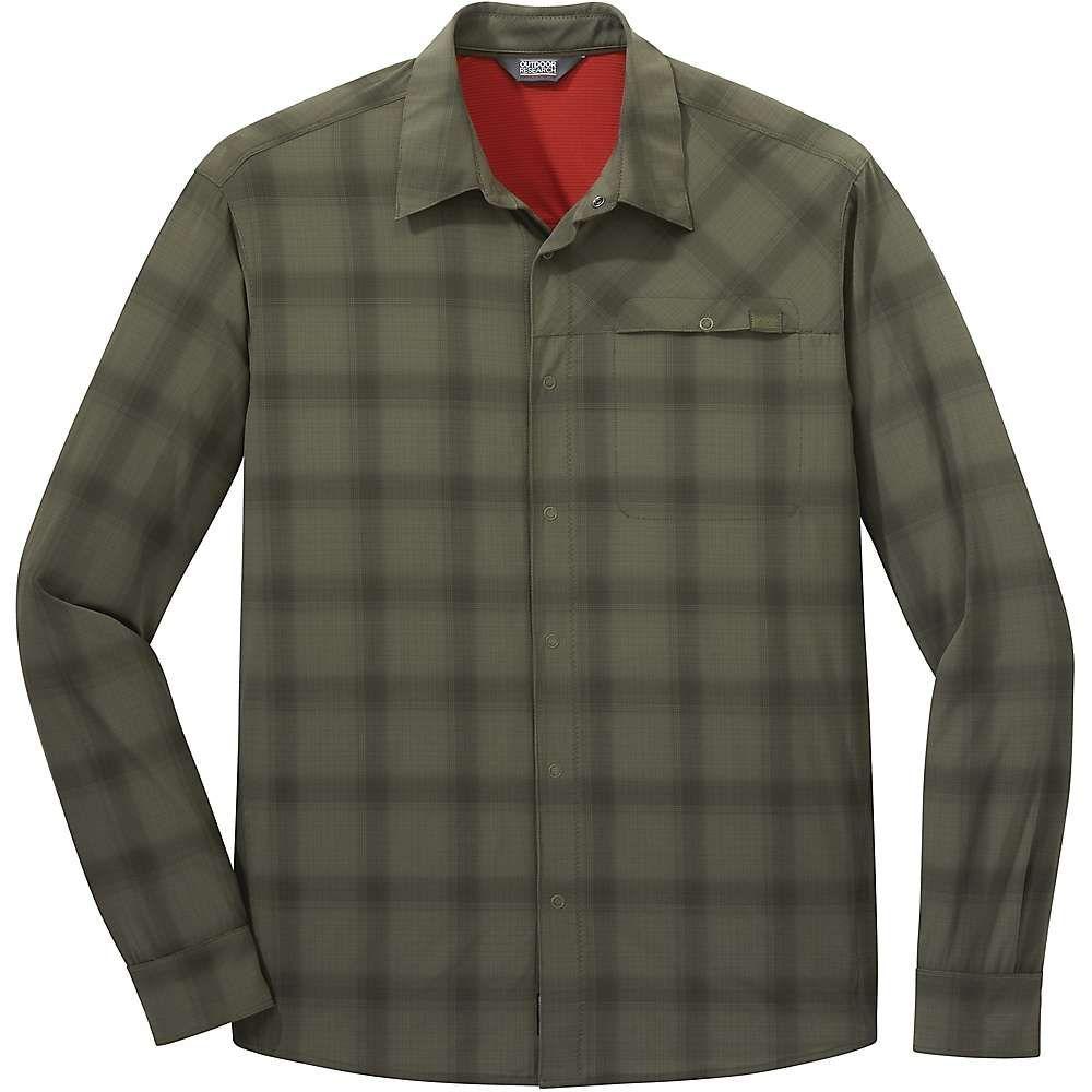 アウトドアリサーチ Outdoor Research メンズ ハイキング・登山 シャツ トップス【astroman ls sun shirt】Fatigue
