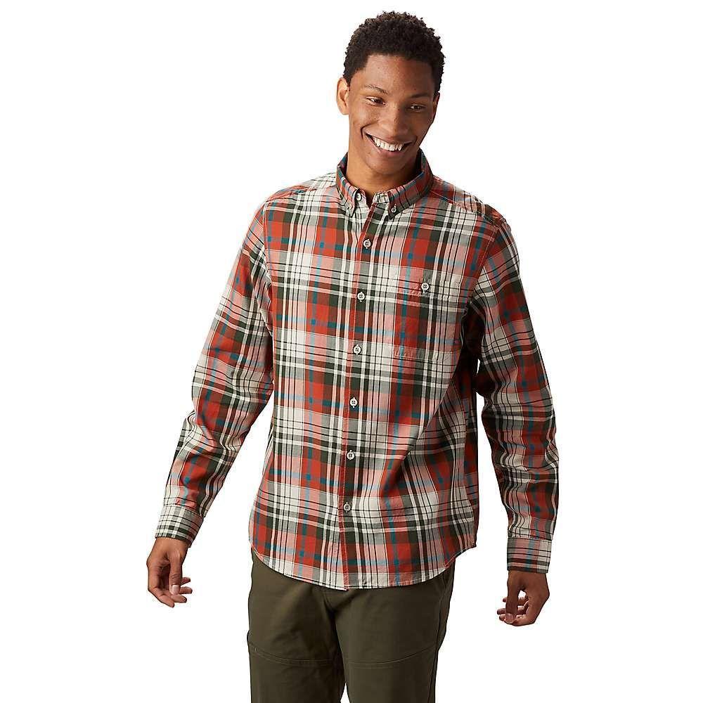 マウンテンハードウェア Mountain Hardwear メンズ ハイキング・登山 シャツ トップス【minorca ls shirt】Dark Copper