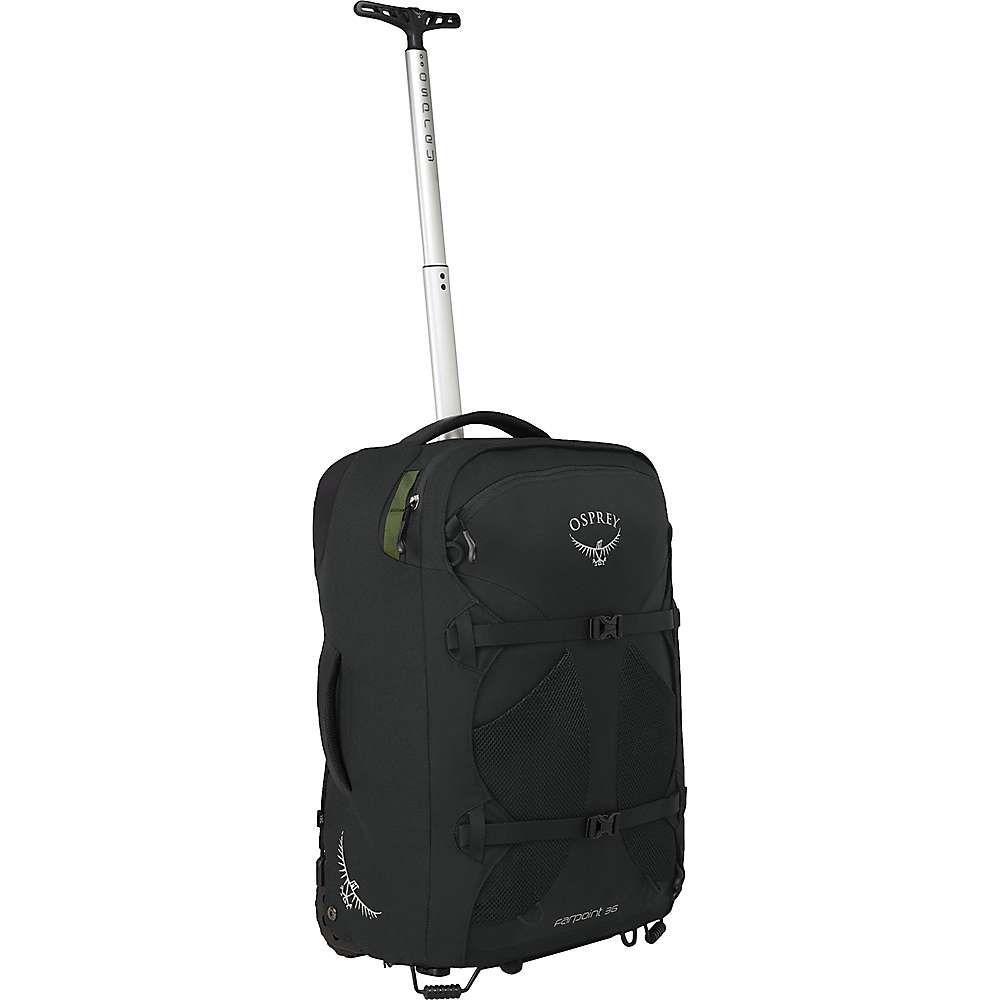 オスプレー Osprey メンズ スーツケース・キャリーバッグ バッグ【farpoint wheeled travel pack 36】Black