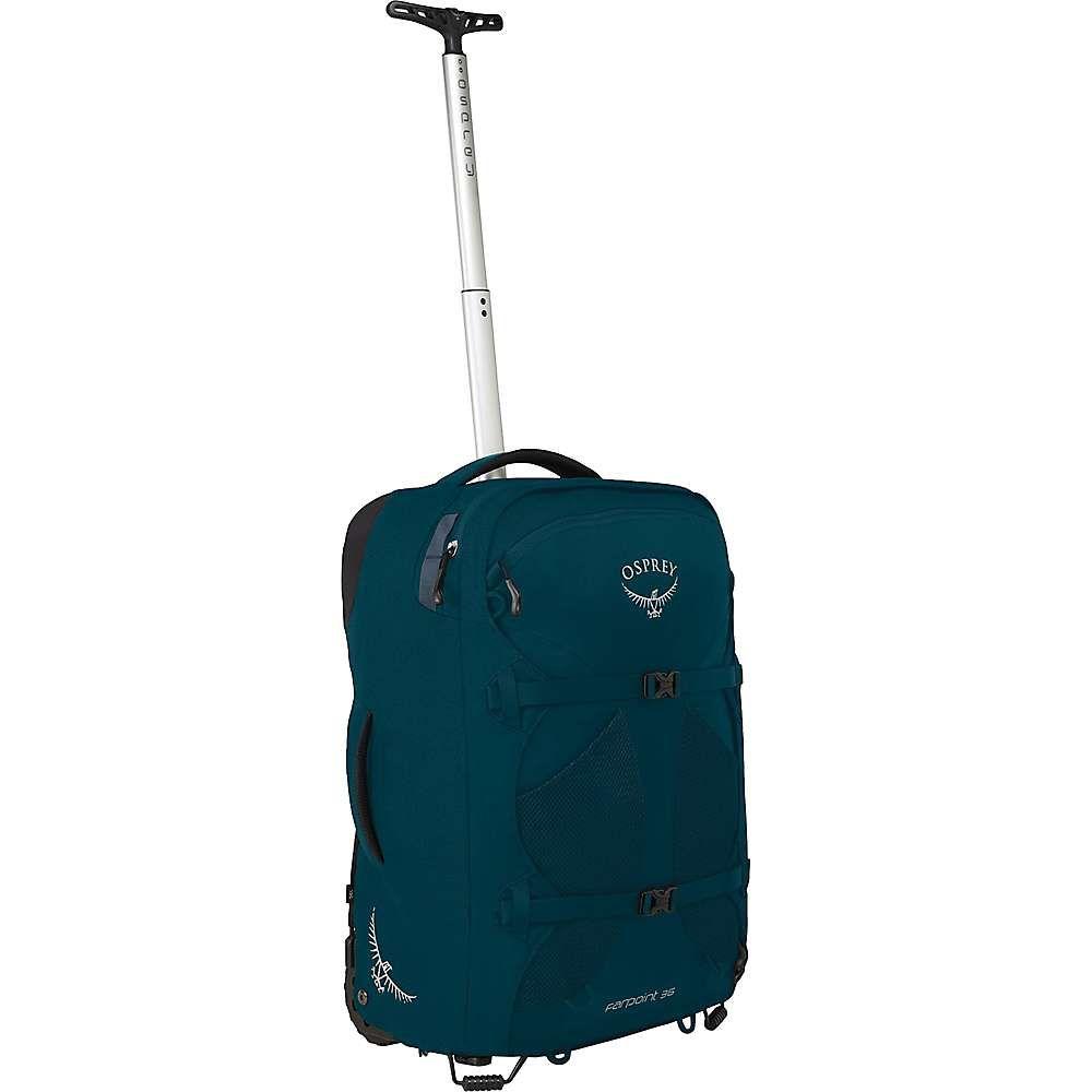 オスプレー Osprey メンズ スーツケース・キャリーバッグ バッグ【farpoint wheeled travel pack 36】Petrol Blue
