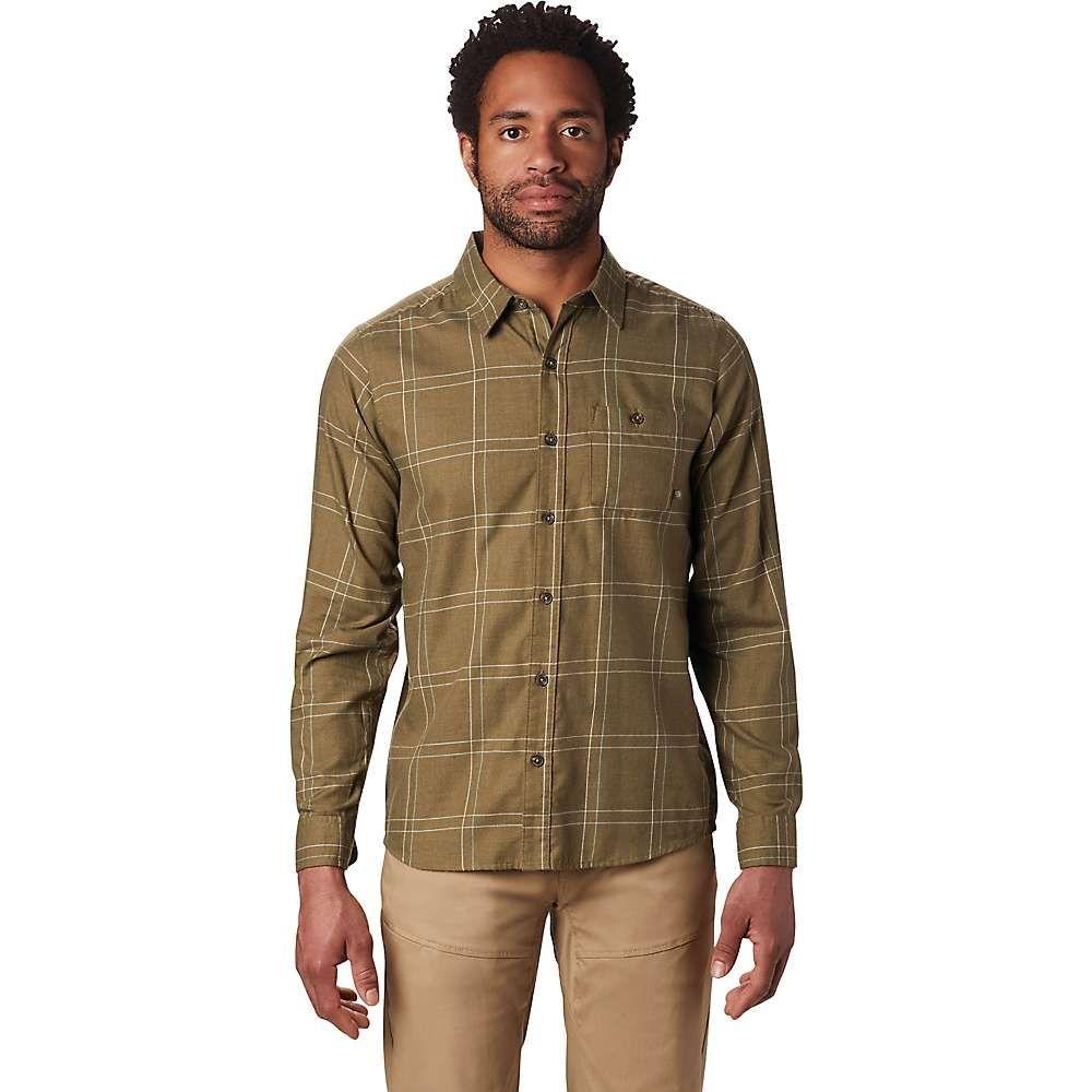 マウンテンハードウェア Mountain Hardwear メンズ ハイキング・登山 シャツ トップス【burney falls ls shirt】Combat Green