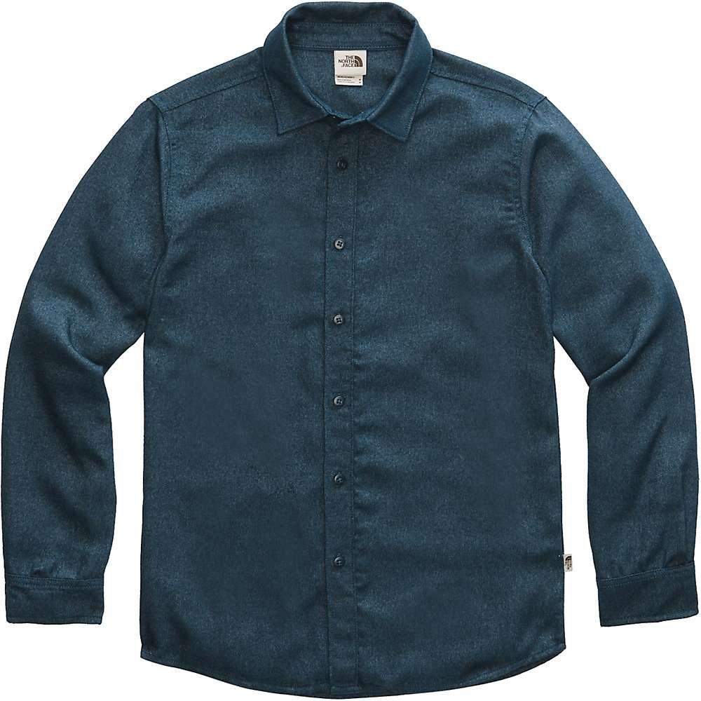 ザ ノースフェイス メンズ ハイキング 登山 トップス Blue Wing Teal The North 最安値 shirt サイズ交換無料 thermocore ls 日本最大級の品揃え シャツ Face