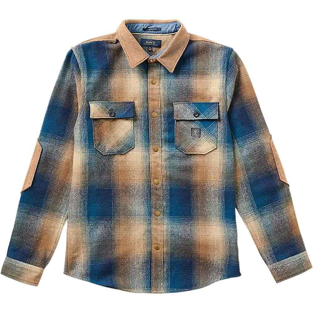 ローアク Roark メンズ ハイキング・登山 トップス【nordsman wool blend insulator shirt】Navy