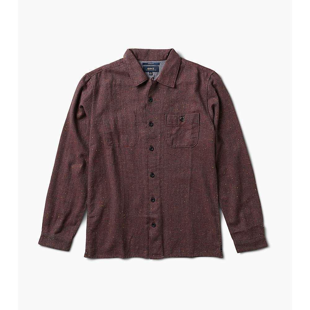 ローアク Roark メンズ ハイキング・登山 シャツ トップス【wild camp long sleeve shirt】Burgundy