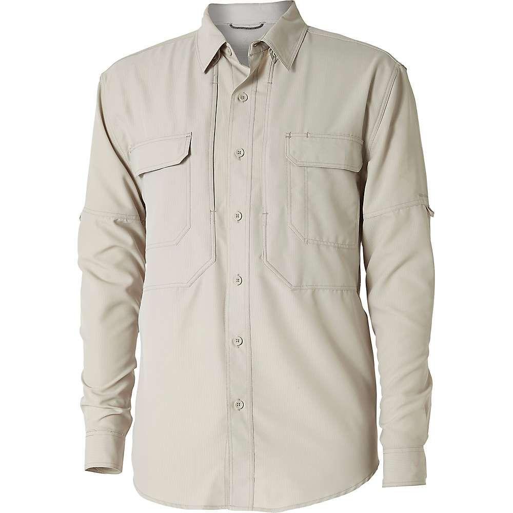 ロイヤルロビンズ Royal Robbins メンズ ハイキング・登山 シャツ トップス【expedition ls shirt】Soapstone