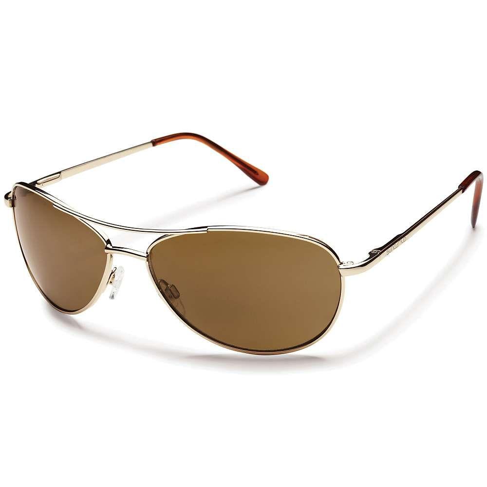 サンクラウド Suncloud メンズ メガネ・サングラス 【patrol polarized sunglasses】Gold/Brown Polarized