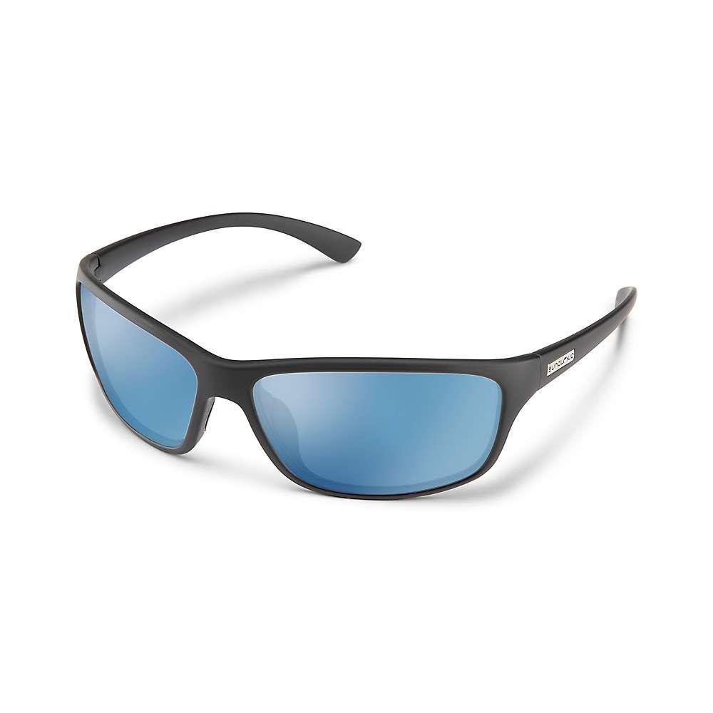 サンクラウド Suncloud メンズ メガネ・サングラス 【sentry polarized sunglasses】Matte Black/Blue Mirror