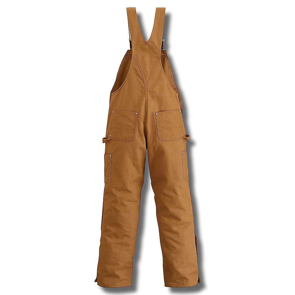 カーハート Carhartt メンズ オーバーオール ビブパンツ ボトムス・パンツ【zip to thigh bib overall】Carhartt Brown