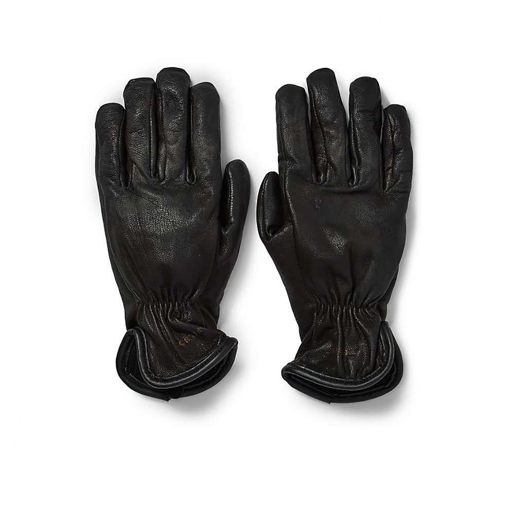 フィルソン Filson メンズ 手袋・グローブ 【original lined goatskin glove】Black