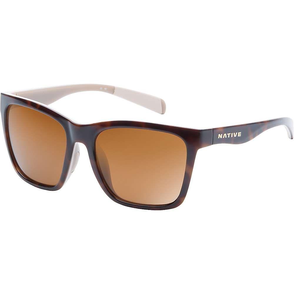 ネイティブ Native メンズ メガネ・サングラス 【braiden polarized sunglasses】Maple Tort/Pale Pink/Nude Crstl/Brown Polar