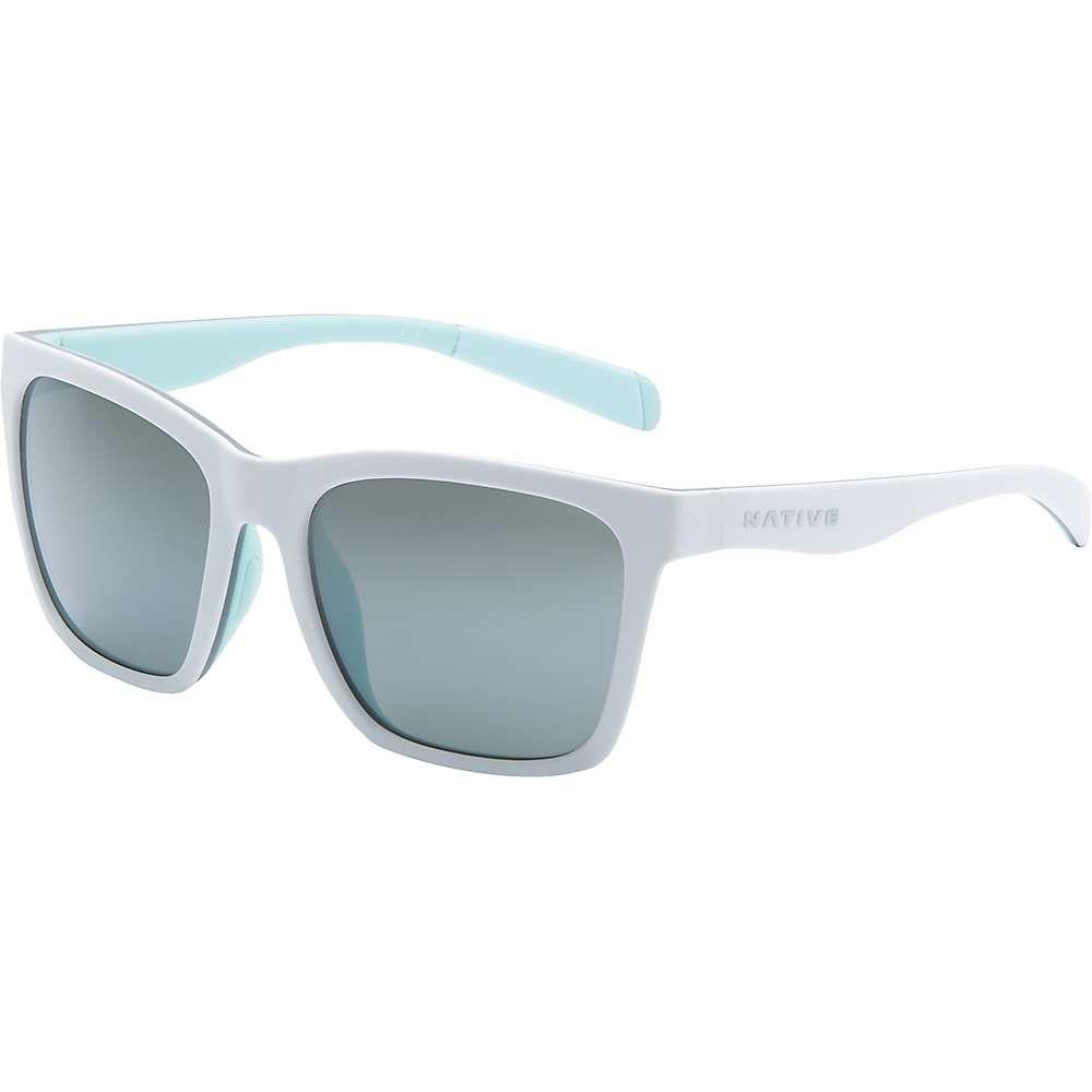 ネイティブ Native メンズ メガネ・サングラス 【braiden polarized sunglasses】Matte White/Grey/Mint/Silver Reflex Polrized